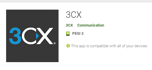 3CX   Install client on mobile : +972 (0)4-6225922 - NDSN