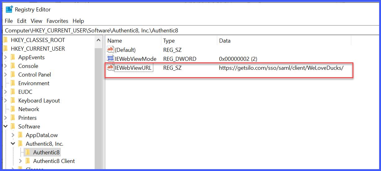SAML SSO for Silo Access : Authentic8 Support
