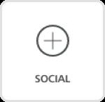 Social media content block