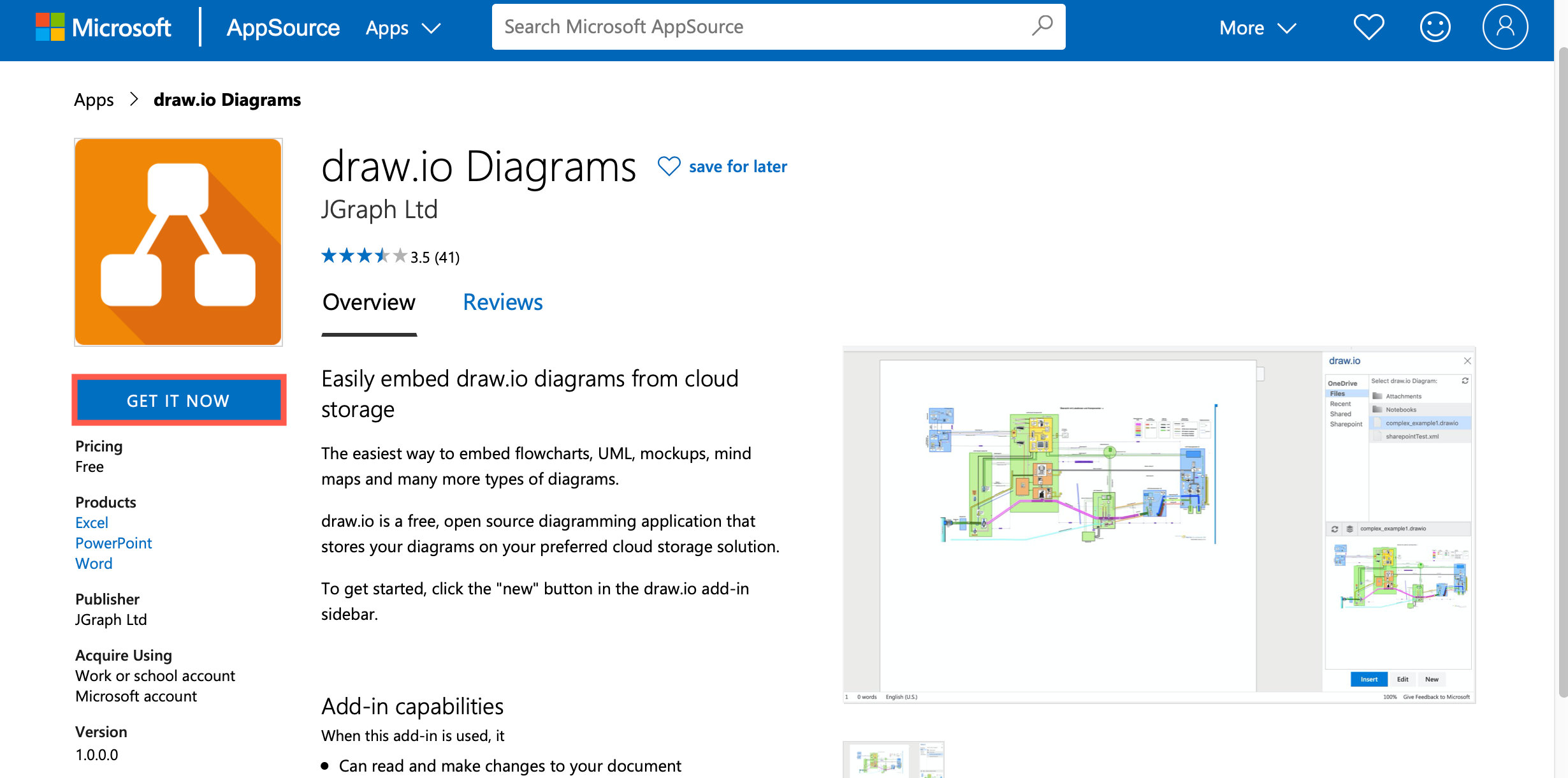 Use Diagrams In Microsoft Word Excel Or Powerpoint Draw Io Helpdesk