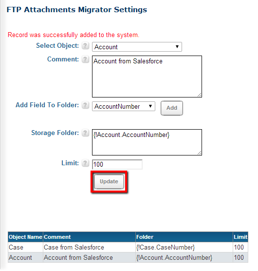 Using FTP Attachments® Migrator :