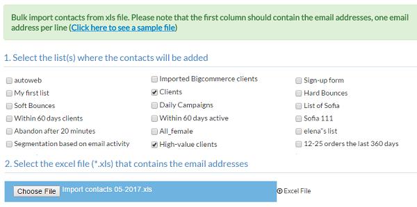 Choose Excel File