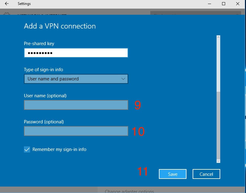 WIN 10 & 8 x L2TP VPN setup guide : VanishedVPN