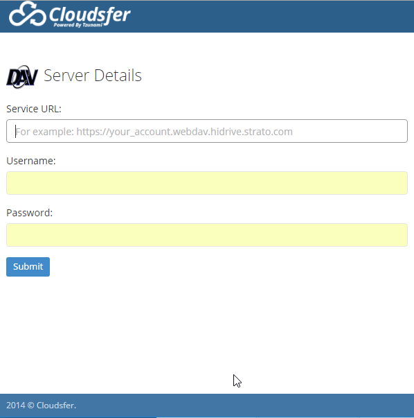 Migrating To WebDAV : Cloudsfer Support