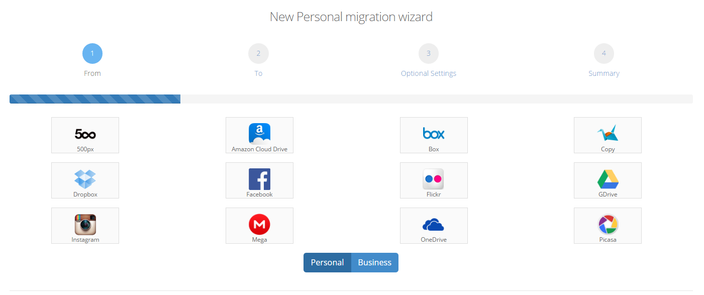 How to create a Personalized migration : Cloudsfer Support