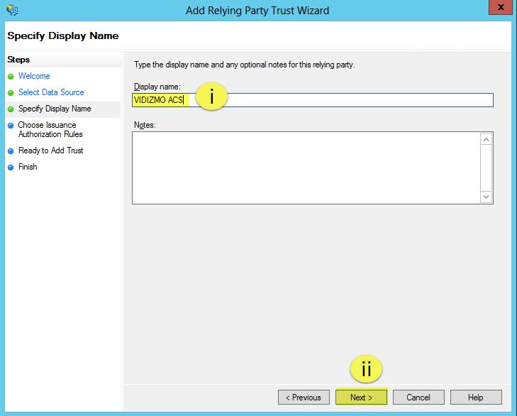 Setup Sso Using Adfs 2 0 With Vidizmo S Corporate Active