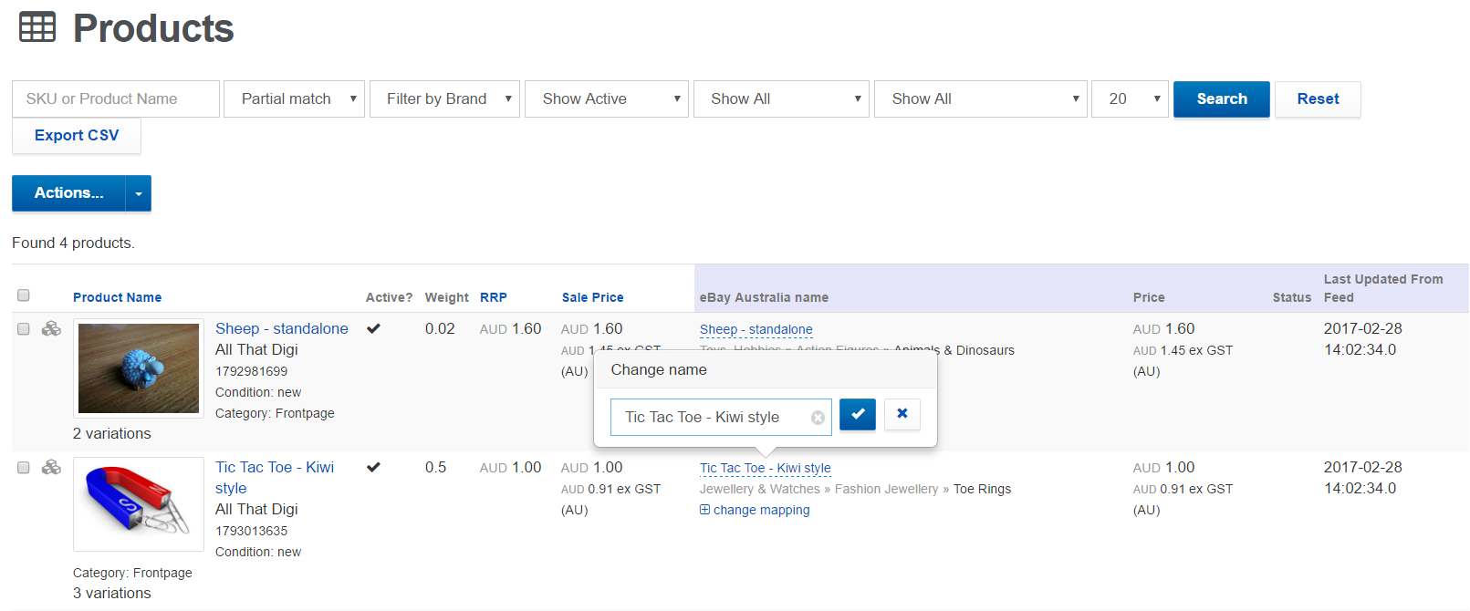 How Do I Change The Product Titles In Ebay Link To Optimise My Listings For Ebay S Search Algorithm Ebay Link Support