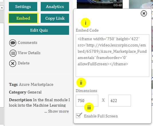 How To Embed VIDIZMO Presentations On The Web : VIDIZMO Helpdesk