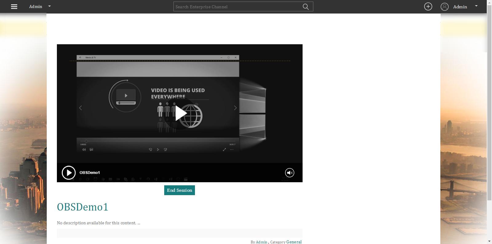 How To Capture Live Streams Using OBS Studio : VIDIZMO Helpdesk