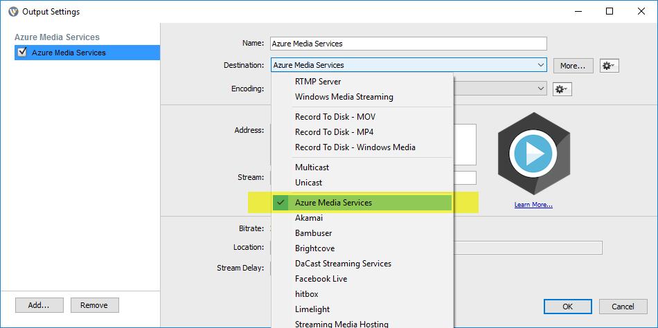 Wirecast - Live Stream Videos Using Wirecast Encoder : VIDIZMO Helpdesk