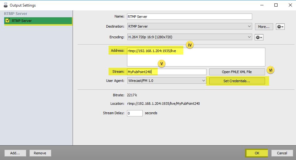 Wirecast - Live Stream Videos Using Wirecast Encoder