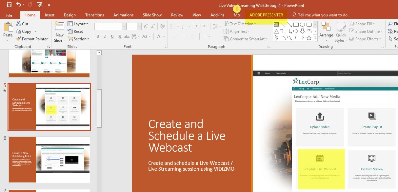Adobe presenter help