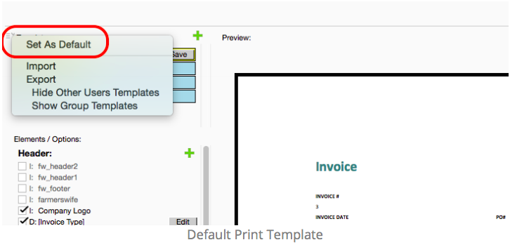 Printing An Invoice Farmerswife - Invoice header template