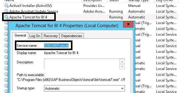 Install or upgrade Tomcat bundled with SAP BI 4 x [How-To