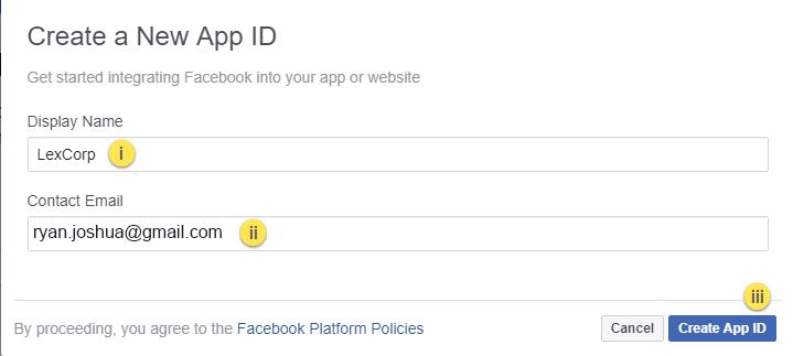 How to Setup SSO using Facebook : VIDIZMO V6