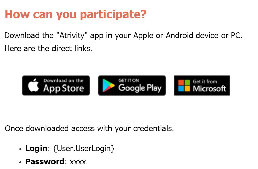 PC version of Atrivity for your Desktop : Customer Success