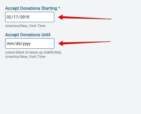 Setup Donations : RunSignUp Helpdesk