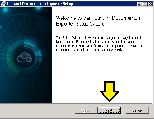 Exporter installation guide : Cloudsfer Support