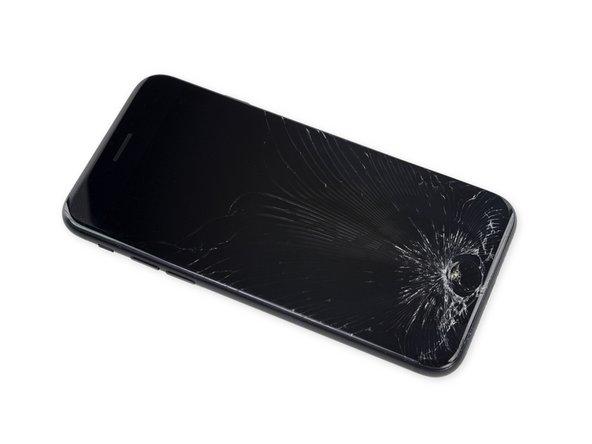 Si votre écran est fissuré, n'oubliez pas de le sécuriser de manière à éviter d'aggraver la fissure ou de vous blesser durant la réparation.
