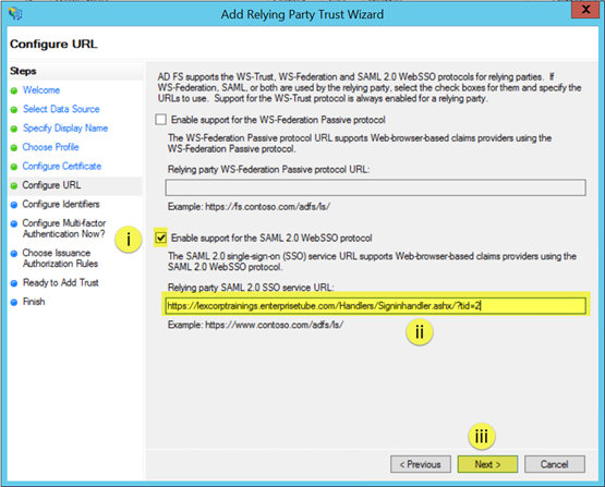 How to Setup SSO using ADFS 3 0 for On-Premise Environment