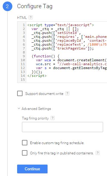 Configure Custom HTML Tag