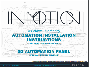 G3 Automation Installation Instructions