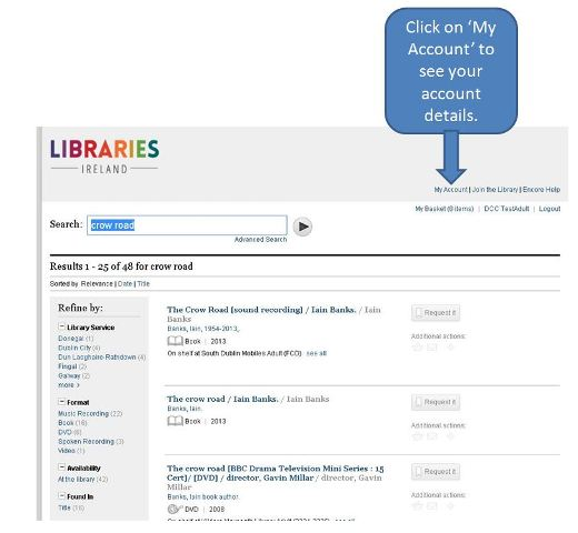 How do I login to my library account? : Support
