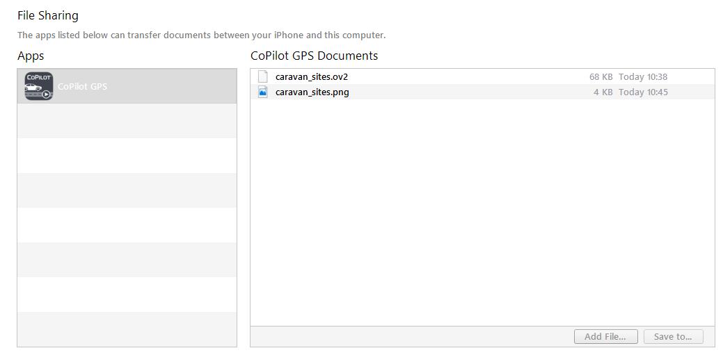 How do I import custom POIs on iOS? : CoPilot App Stores