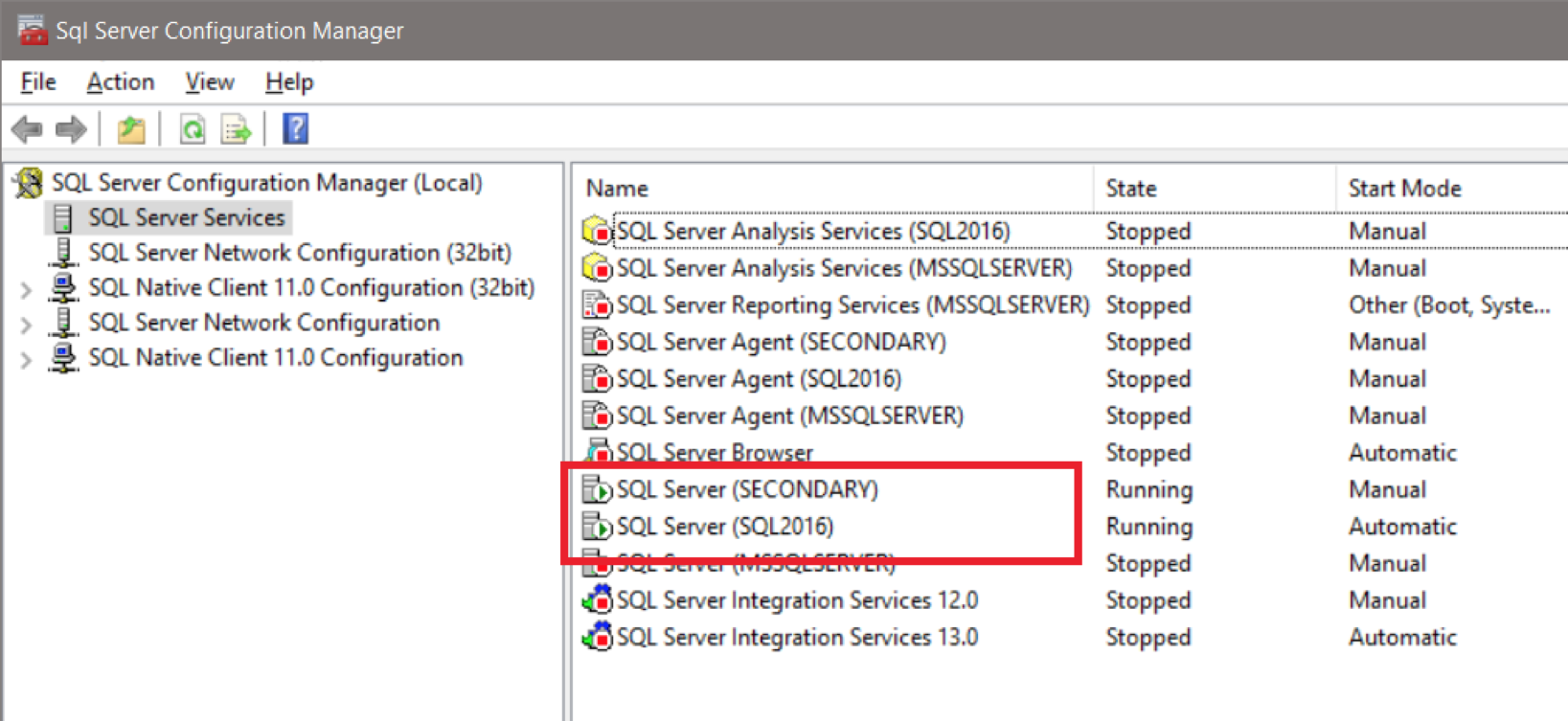 How do I make a connection to a MS SQL database with the