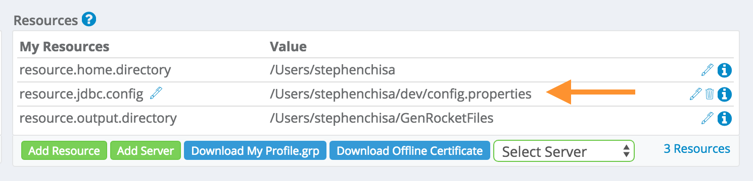 How do I make a connection to a MS SQL database with the GenRocket