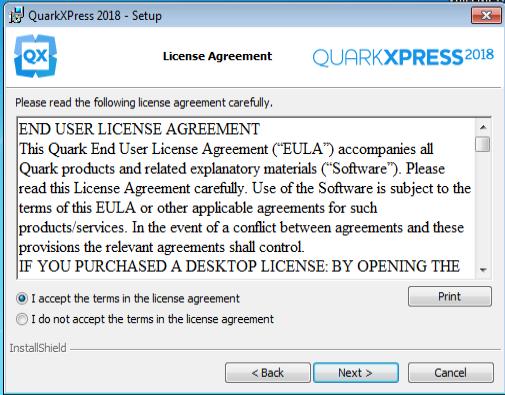 How to install QuarkXPress 2018 on Windows? : Quark Software