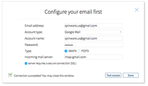 Configure your email