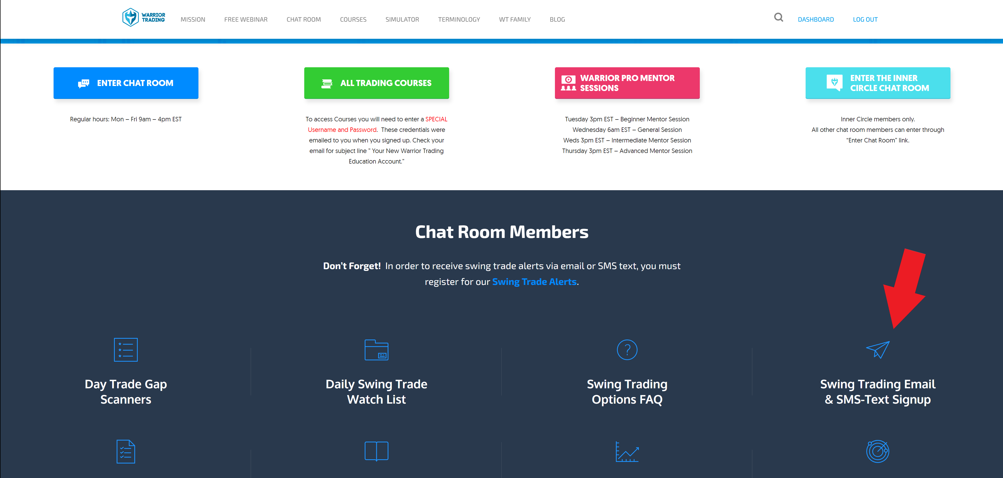 Money chat room