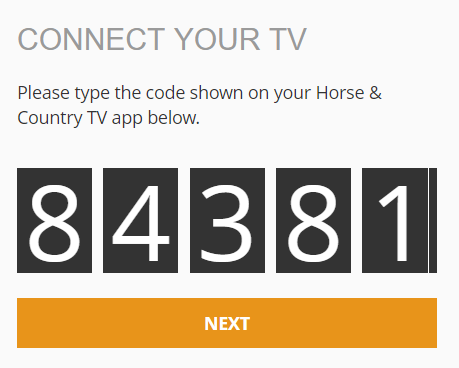 How do I log in to H&C apps using my TV? : Support