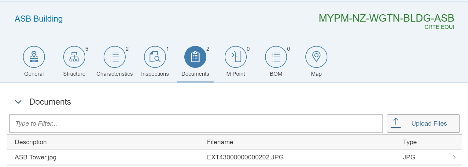 Functional Location - Documents Tab | S5 Consulting AS