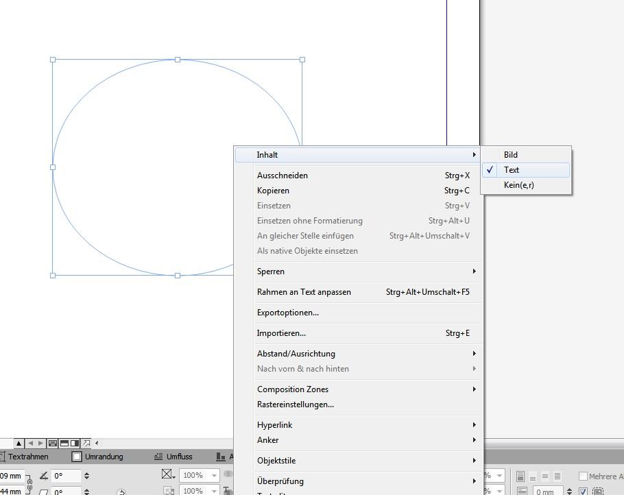 wie kann man text auf kreisförmigen weg einheitlich