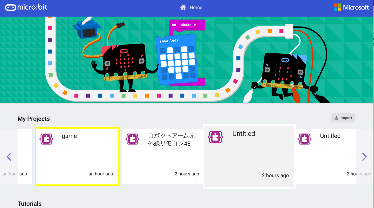 Saving micro:bit programs : Support
