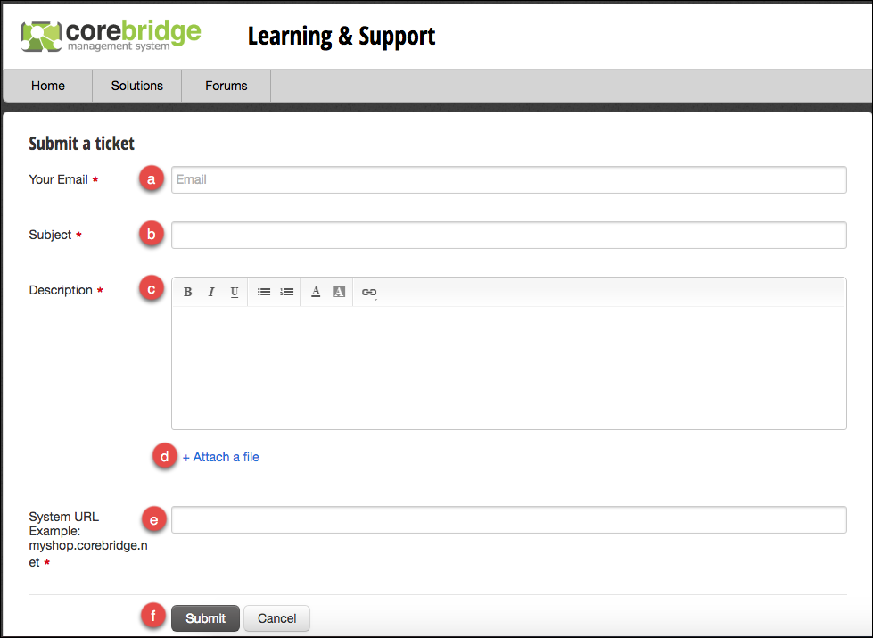 CoreBridge : Learning & Support