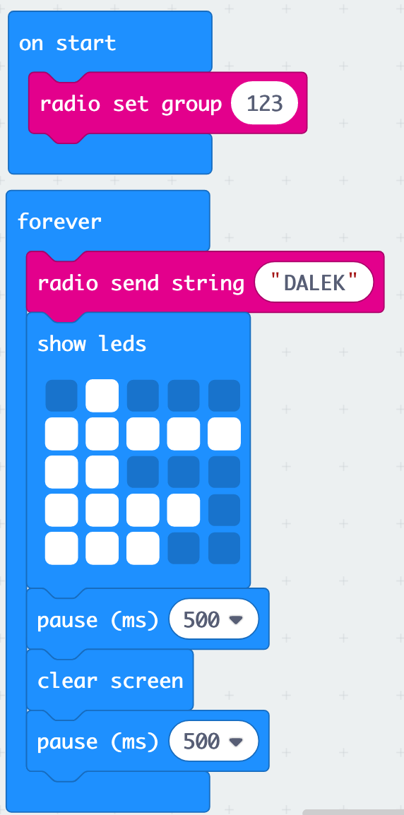 Send radio messages from makecode to python : Support