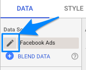"Data Source data element with blue arrow pointing to pencil ""edit"" icon"