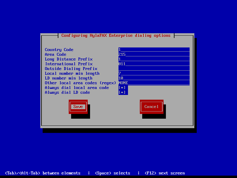HylaFAX Enterprise T38Fax Dialing Config