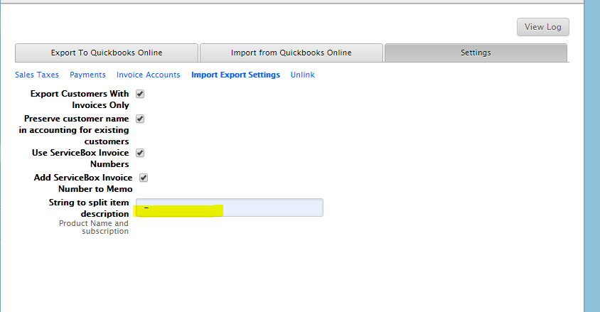 Import Materials from Quickbooks Online - Accounting
