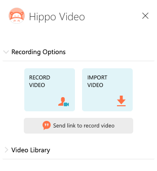Outlook Integration with Hippo Video : Customer Support