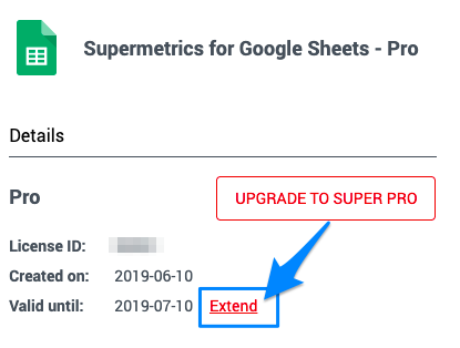 How Do I Enable/Disable Auto-Renewal? : Supermetrics Support