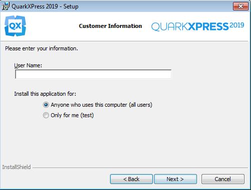 How to install QuarkXPress 2019 on Windows? : Quark Software