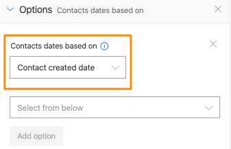 Once the date setting is selected, then you can change between the two values