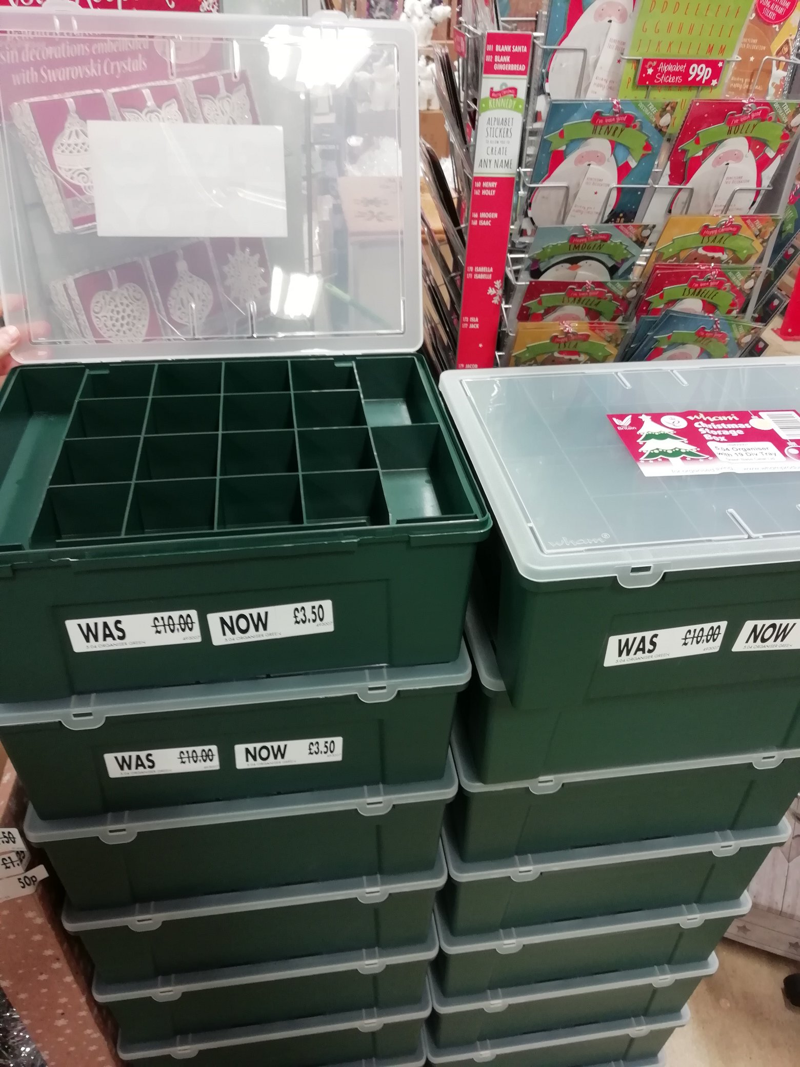 micro:bit storage case from supermarket