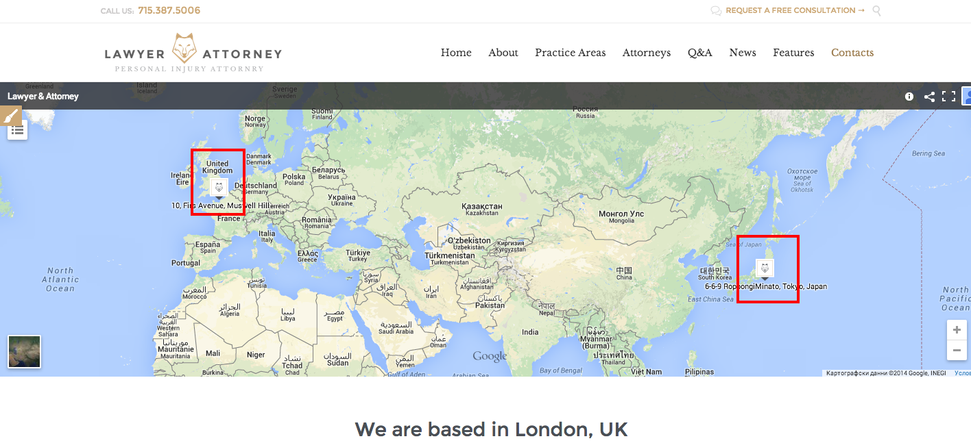 How to change the Google map in the Contact Us page + multi ...