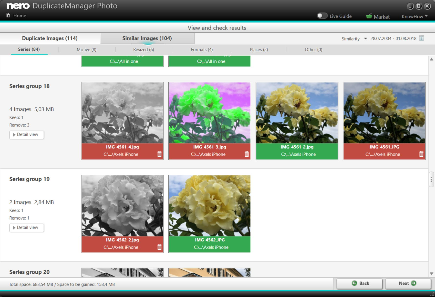 Nero Duplicate Manager_Similar Images_300 dpi