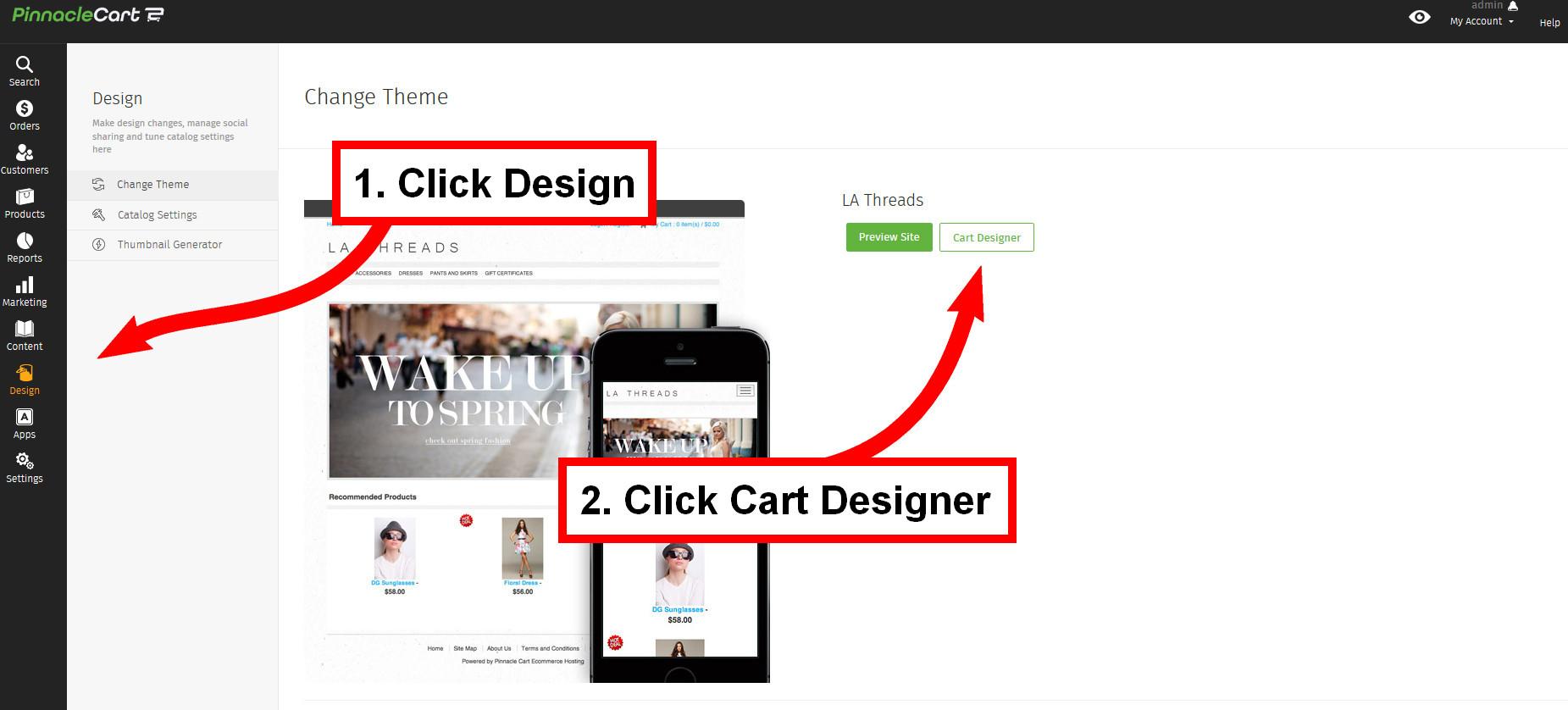 cart designer